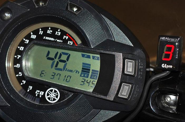 Yamaha Fz N Integrated Gear Indicator
