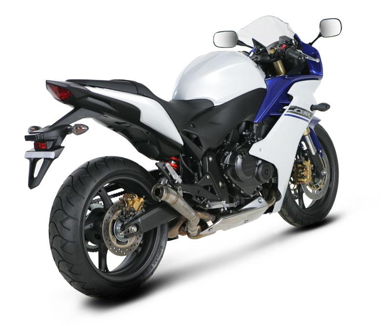 Akrapovic Racing Exhaust for Honda Hornet 600 07-, CBR 600 F 11-, Megaphone  Racing muffler
