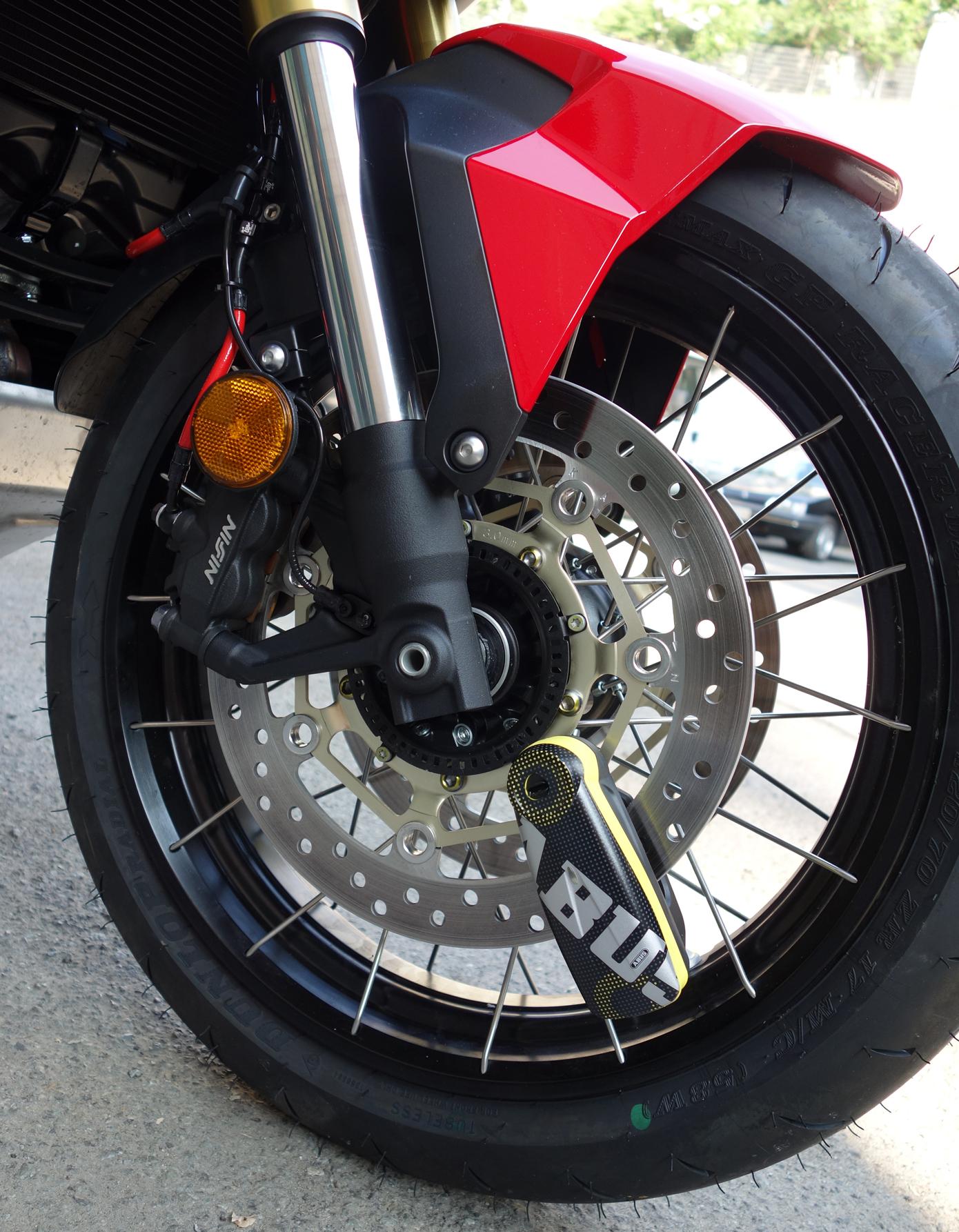 Brake Disc Lock with Alarm Suzuki Burgman 250