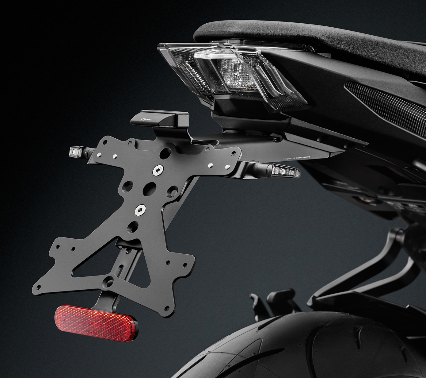Rizoma License Plate Support Yamaha MT 09 17