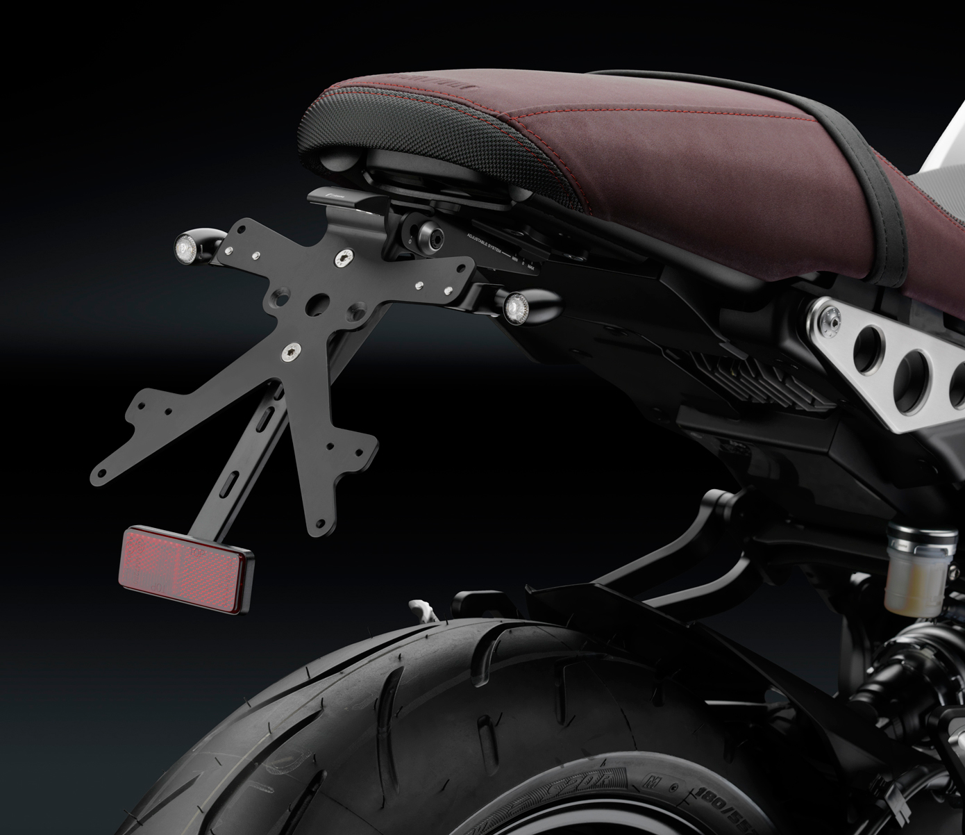 Rizoma License Plate Support Yamaha MT 09 14 16 Tracer