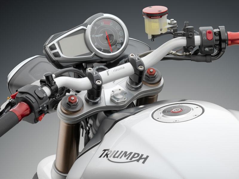 /29/Ducati Scrambler 800 Rizoma ma006b manillar secci/ón variable c/ónico Negro /Ø22/