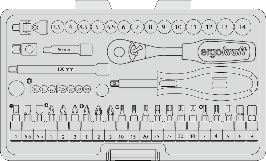 Tool Box KRAFTWERK 6001.1Kraftwerk Tools South Africa