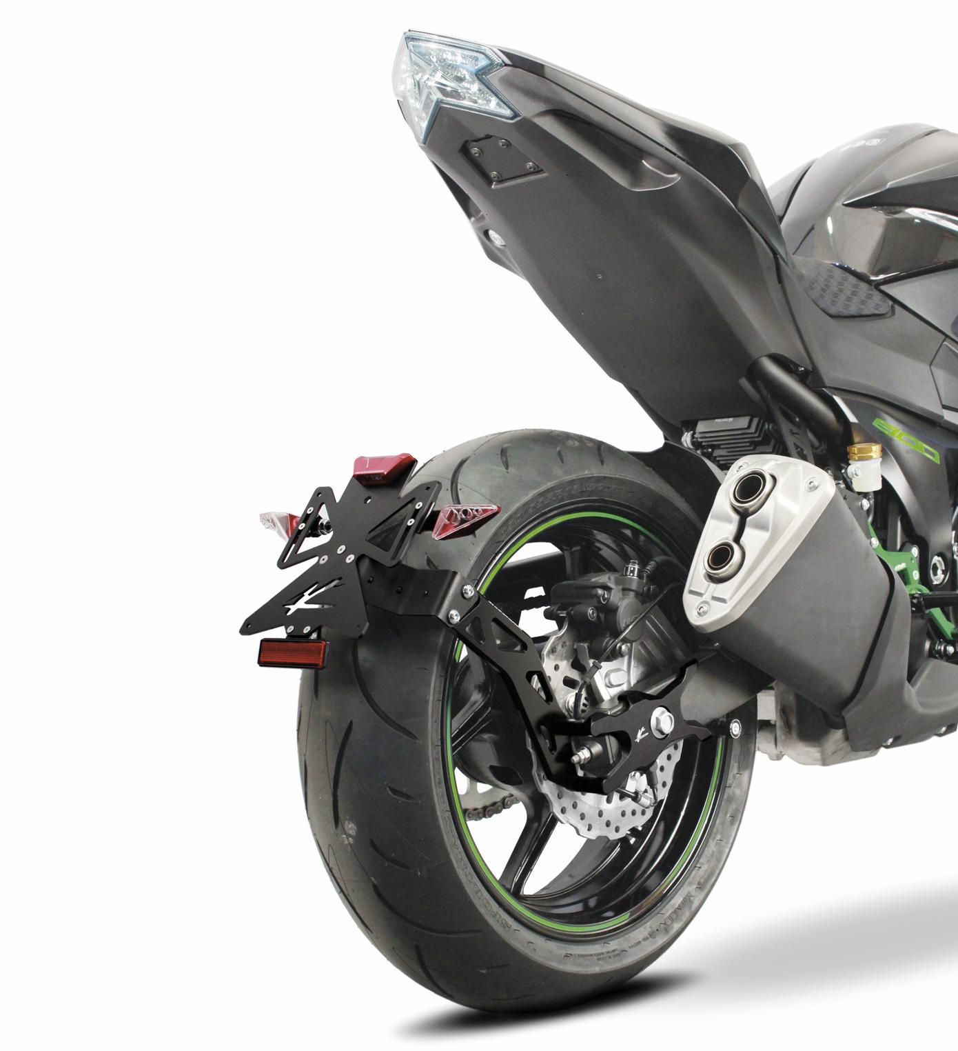 Valter Moto Licence Plate Prtr005 00 For Kawasaki Z1000 17 In Lighting System Circuit King 14