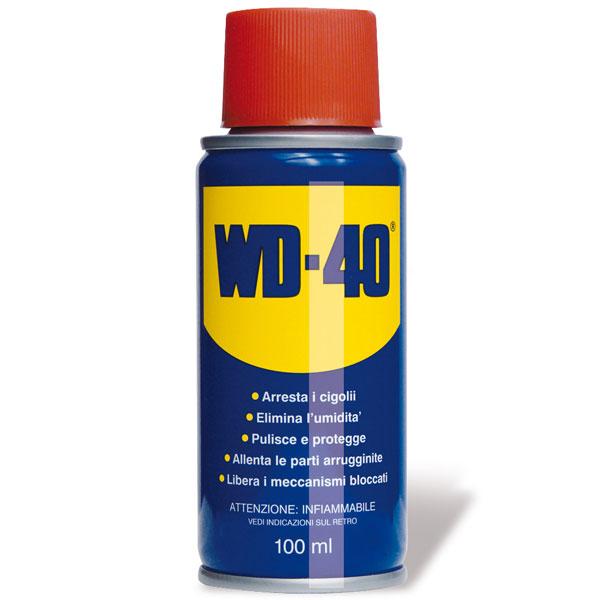 WD-40 100ml, Spray Lubrificante e Sbloccante, Formato Mini