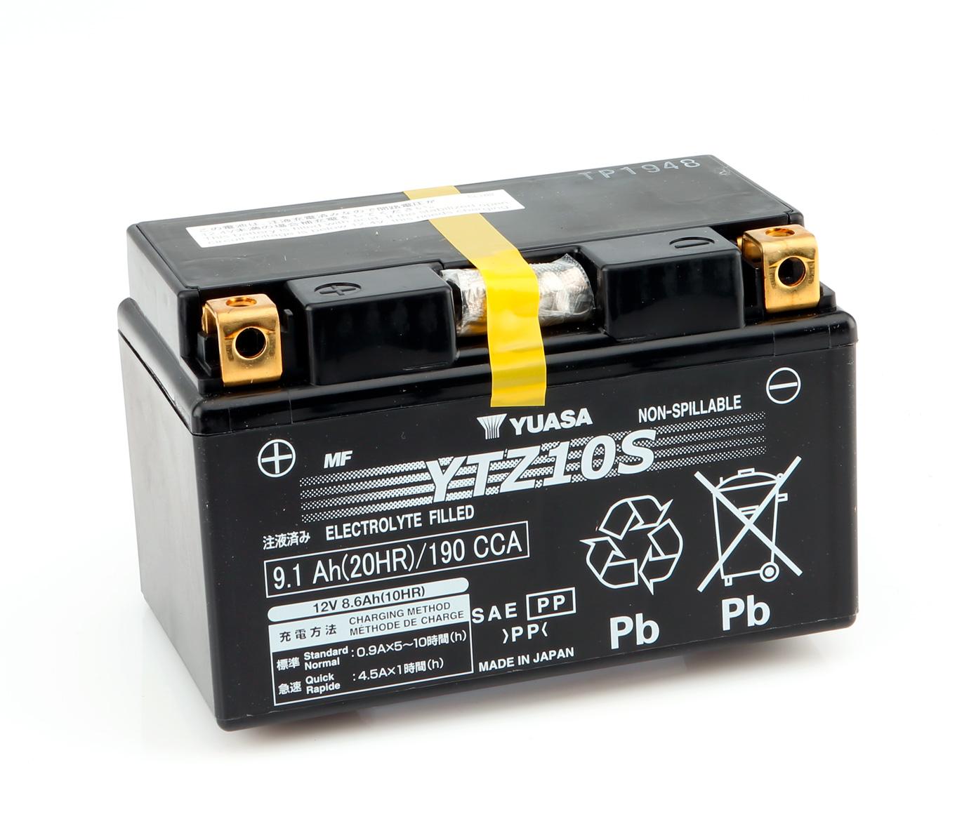 senza manutenzione YUASA Batteria /YTZ10S