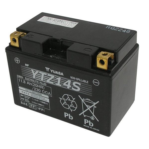 Batteria Yuasa Ytz 14s Per Honda Integra 750 14 15 In Batterie