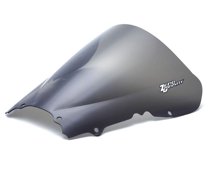 Zero Gravity Windscreen Yamaha R6 99-02, Double Bubble, color Light Smoke